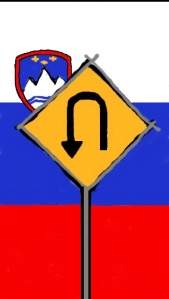 Slovene U-turn